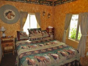 Outlaw cabin at Geronimo Trail Guest Ranch