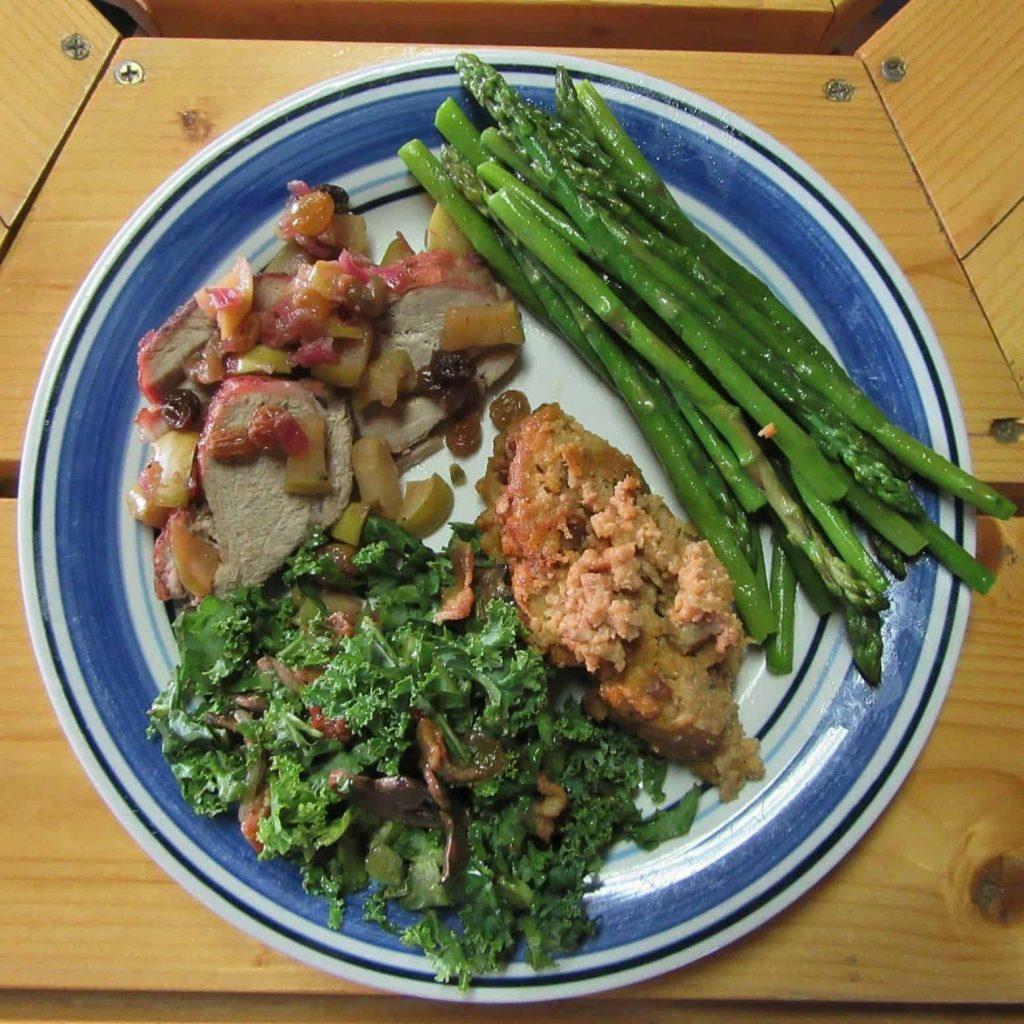 Pork Tenderloin, Dining, Geronimo Trail Guest Ranch
