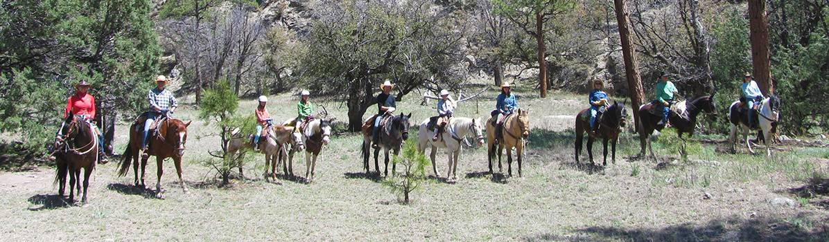 Gatherings, Reunions, Family Vacations, Geronimo Trail Guest Ranch