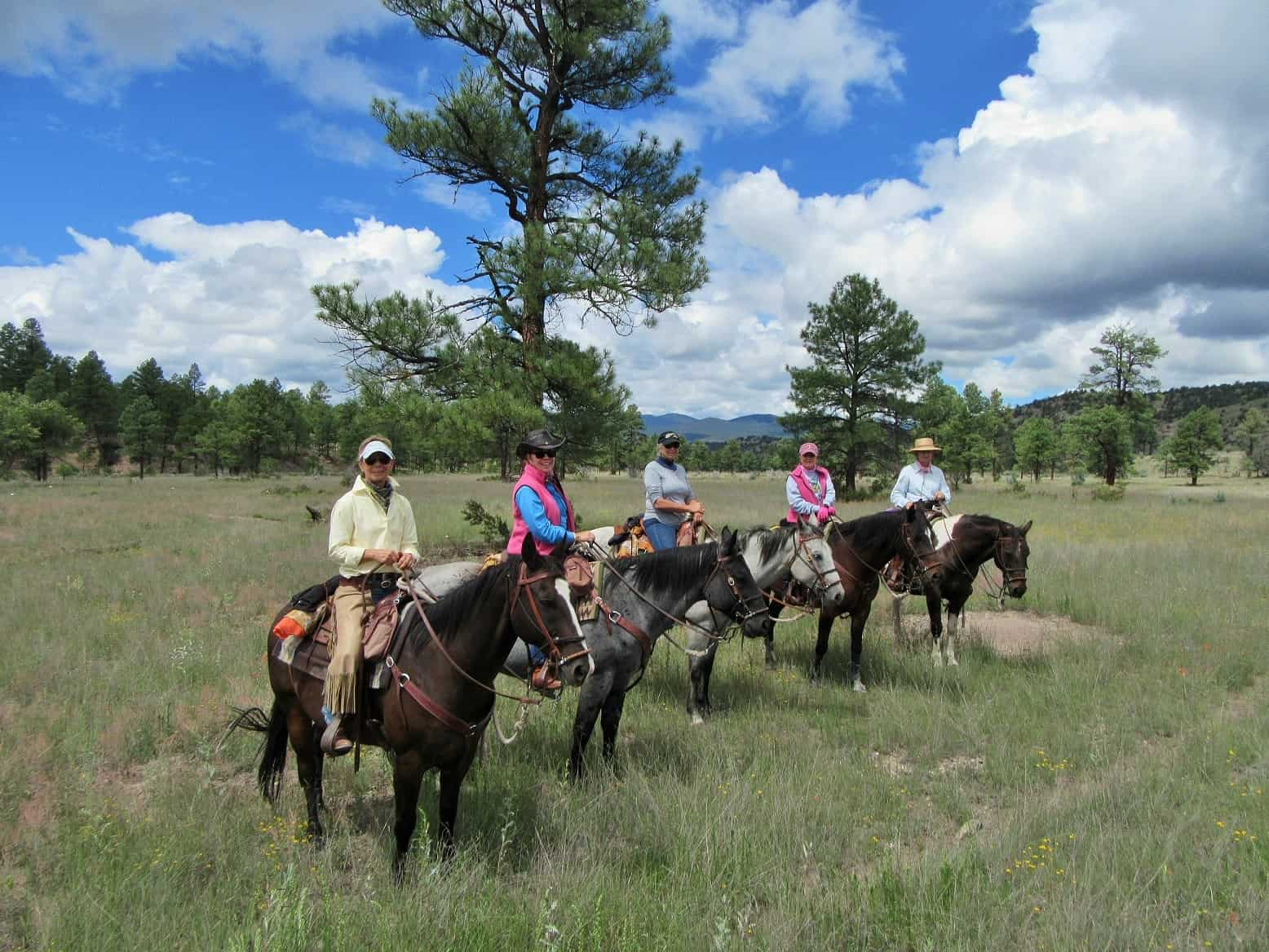 Cowgirl Getaways, Geronimo Trail Guest Ranch, Gila National Forest, New Mexico, Horseback Riding, Trail Riding, Dude Ranch, Guest Ranch